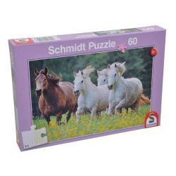 Puzzle - Konie w galopie