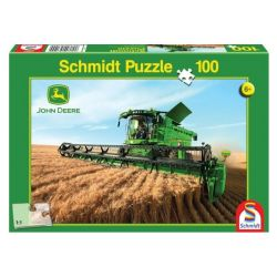 Puzzle - Kombajn zbożowy John Deere