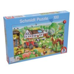 "Puzzle - ""Wesoła farma"""