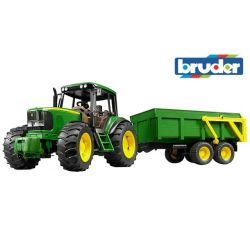 Zabawka Traktor - John Deere 6920 z przyczepą