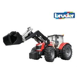 Zabawka Traktor - Massey Ferguson 7600 z ładowaczem