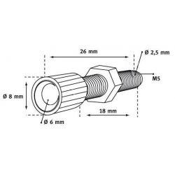 Śruba nastawcza regulacja długości linki