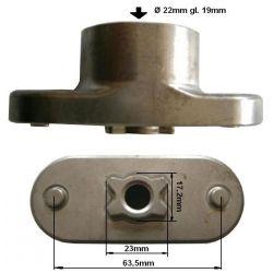Uchwyt listwy tnącej MTD G46M, wał 22mm