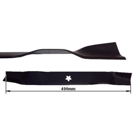 Nóż, listwa tnąca 49cm Husqvarna LT131, LT151, LTH141, LTH154 nr 5321341-48, 5811163-02, 5321939-57