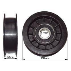 Rolka napinacza płaska śr. 118mm