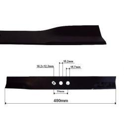 Nóż do kosiarki 480mm Nac AL480 VH