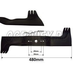 Nóż do kosiarki 48cm Viking MB650, MB505 nr. 6360-702-100