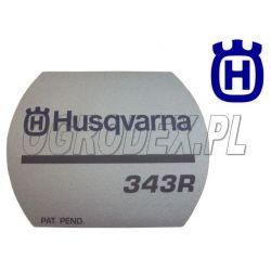 Naklejka rozrusznika Husqvarna 343R