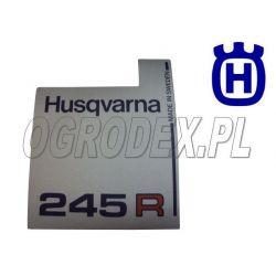 Naklejka rozrusznika Husqvarna 245R