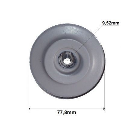 Rolka klinowa śr. 78mm John Deere LX172, LX173, LX176 nr AM115682, AM103019