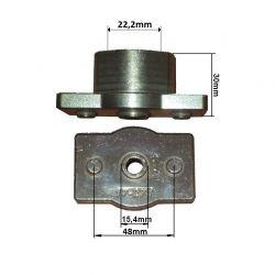 Uchwyt listwy tnącej Husqvarna 51D, 22,2mm