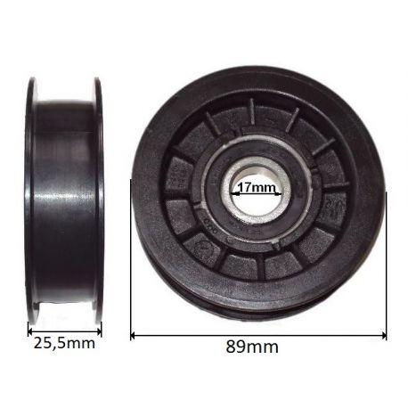 Koło pasowe rolka Craftsman LT2000, YT3000, 25380 nr. 532 17 91-14