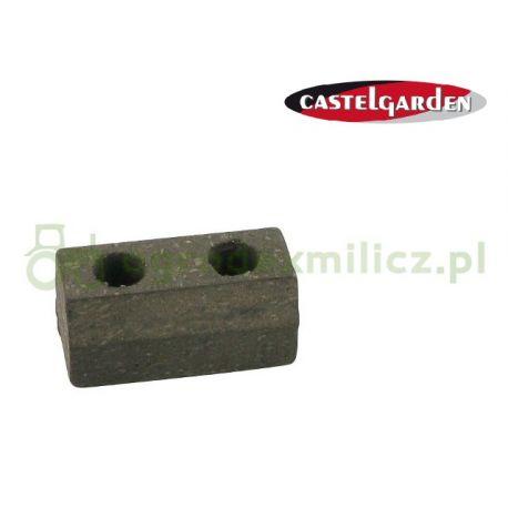 Klocek hamulca koła pasowego agregatu tnącego Castel Garden PT135HD, PT150HD, PTX170HD, TN220HE nr 125207000/1