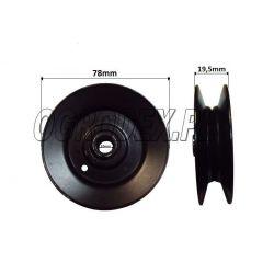 Rolka klinowa MTD Silvertra śr. 78mm / (B)