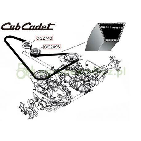 Pasek klinowy jazdy Cub-Cadet Zero Turn FMZ42, FMZ48, FMZ50 nr 754-04189