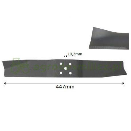 Nóż, listwa tnąca 447mm traktorka Countax A2050, C800H nr 16929000, 16929002