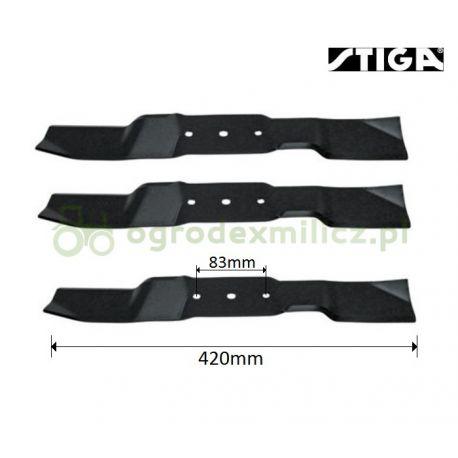 Nóż, listwa tnąca 42cm Stiga Park 110 Combi Pro nr 1134-9107-01, 1134-5976-01