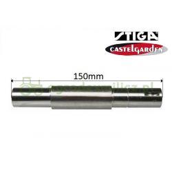 Wałek piasty noża Castel Garden XDC150HD - P