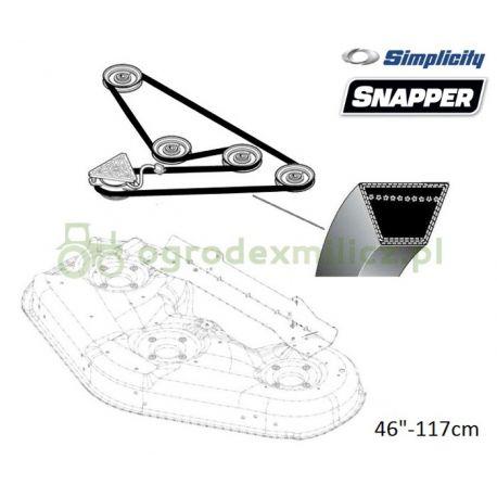 Pasek klinowy noży Simplicity SLT200, SLT210, Regent EX2246