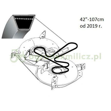 Pasek klinowy napędu noży Husqvarna TC342T nr 5928693-01