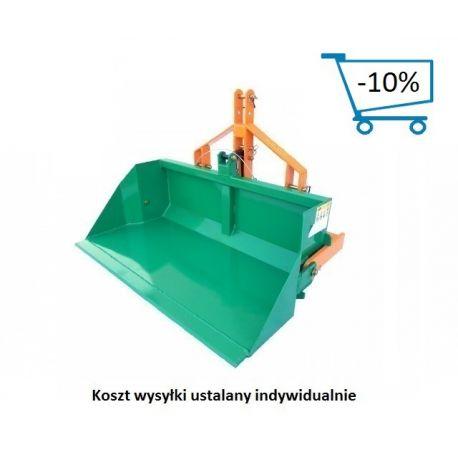 Skrzynia, szufla transportowa - 100cm, kiprowanie manualne