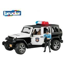 Zabawka Bruder - Policja Jeep Wrangler