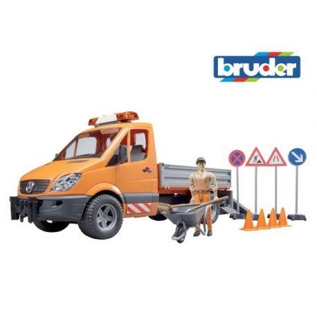 Bruder 02537 - Mercedes-Benz Sprinter, roboty drogowe