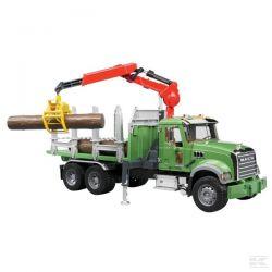 Zabawka Bruder - ciężarówka do przewozu drewna