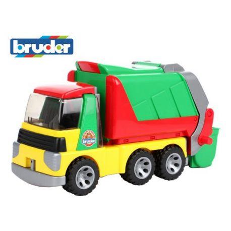 Zabawka Bruder- Samochód ciężarowy śmieciarka