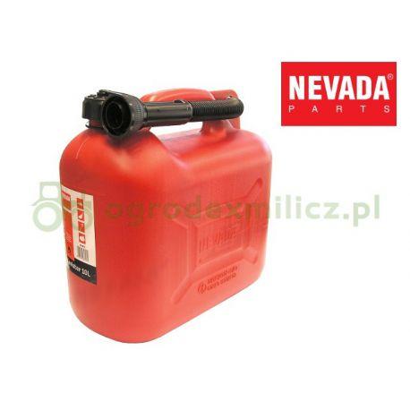 Kanister 10L na benzynę, olej - Nevada