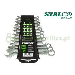 Zestaw kluczy płasko-oczkowych 6-22mm Stalco
