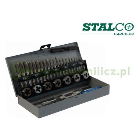 Zestaw gwintowników i narzynek - Stalco S20940