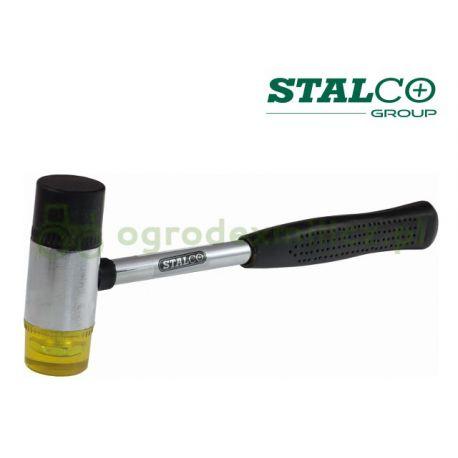 Młotek plastikowo-gumowy 35mm Stalco S-19535