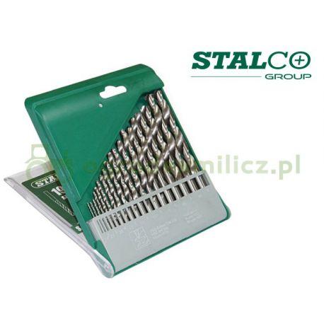 Zestaw wierteł HSS 1mm-10mm - Stalco S-22204
