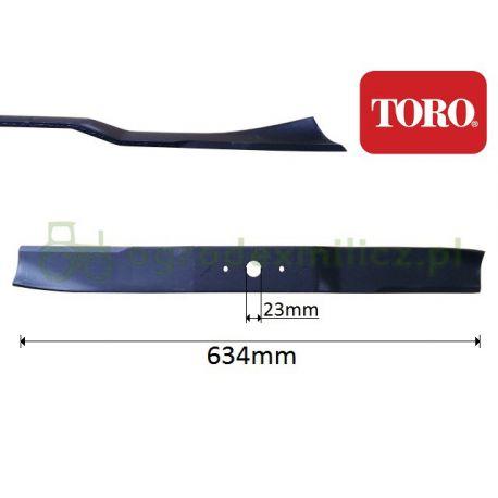 Nóż traktorka Toro Z Master 320 - Lewy nr 98-3028-03