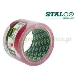 Taśma ostrzegawcza 75mm x 100m - Stalco S-38580