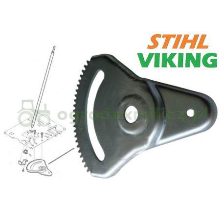 Blacha zębata kierownicy Viking MT5097.1, MT6127.1 nr 61707803600