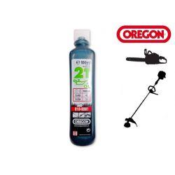 Olej do silników 2-TAKT 100ml OREGON (zielony)