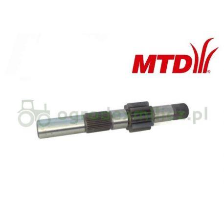 Wałek z zębatką skrzyni MTD nr 711-1592