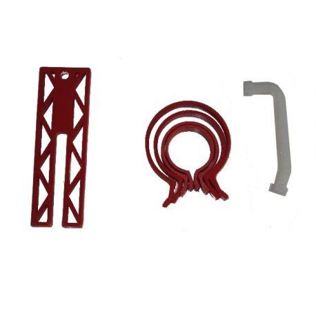 Zestaw serwisowy do montażu tłoków. Partner 01111000