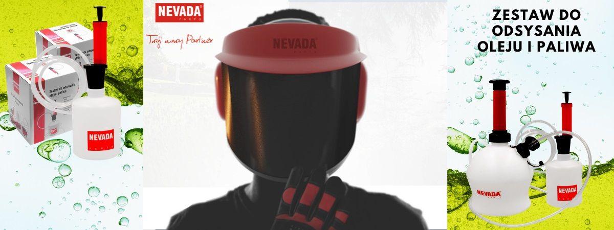 Odysarka Nevada do odsysania paliwa i oleju z kosiarki, traktorka ogrodowego